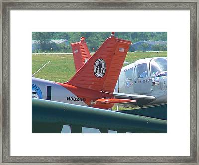 Tuskeegee Aircraft Framed Print by Ron Hayes