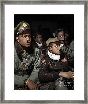 Tuskeegee Airmen, 1945 Framed Print by Granger