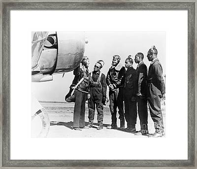 Tuskegee Airmen, 1942 Framed Print