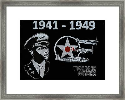Tuskegee Airmen Framed Print by Jim Ross
