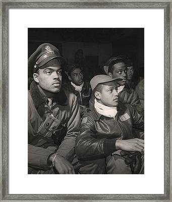 Tuskegee Airmen Of The 332nd Fighter Framed Print by Everett