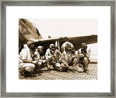 Tuskegee Airmen Framed Print by Pd