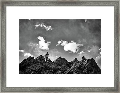Tusas Canyon New Mexico Framed Print by Mary Lee Dereske