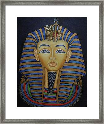 Tutankhamun Framed Print by Margit Armbrust