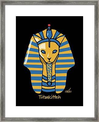 Tutankitteh Framed Print