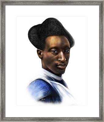 Tutsi Crown Framed Print