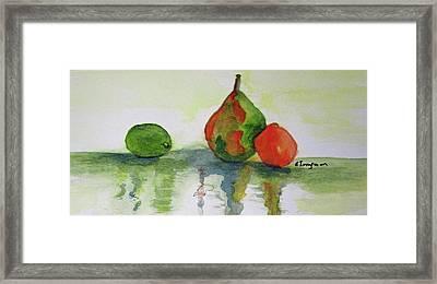 Tutti Fruity Framed Print