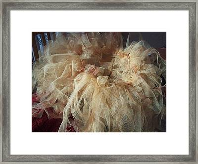 Framed Print featuring the painting Tutu by Judith Desrosiers