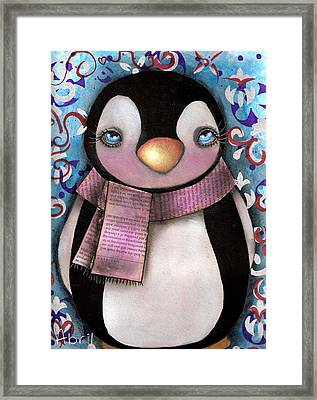 Tuxedo  Framed Print by  Abril Andrade Griffith
