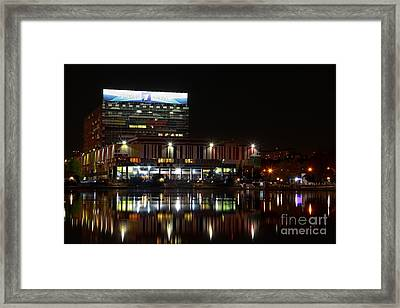 Tv Center Framed Print