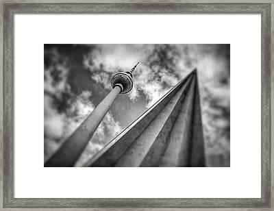 Tv Tower Alexanderplatz Berlin  Framed Print