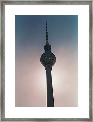 Tv Tower Berlin Framed Print