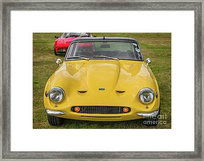 Framed Print featuring the photograph Tvr Vixen S2 1969 by Adrian Evans