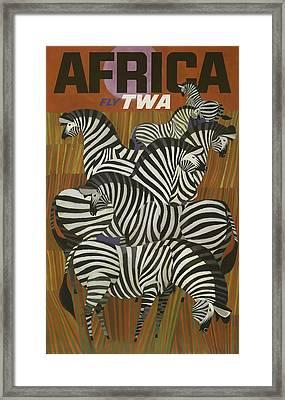 Twa Africa Framed Print