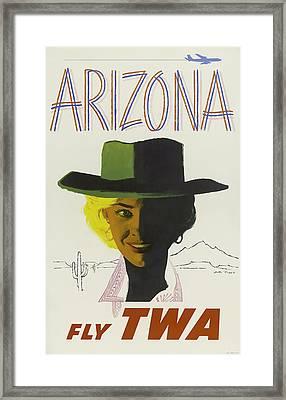Twa Arizona Framed Print