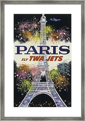 Twa Paris Framed Print