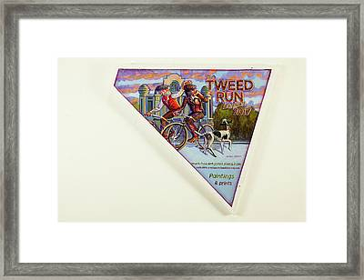Tweed Run London 2 Guvnors  Framed Print
