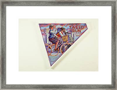 Tweed Run London Princess And Guvnor  Framed Print