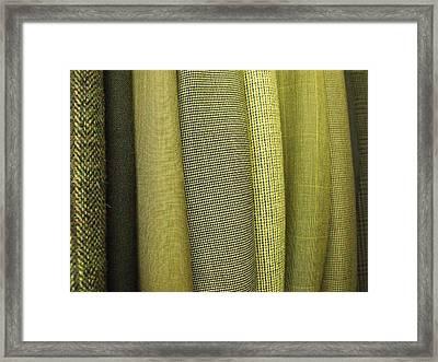 Tweeds Framed Print by Anna Villarreal Garbis