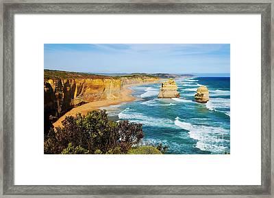 Twelve Apostles Australia Framed Print by Lexa Harpell