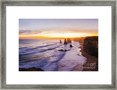 Twelve Apostles Limestone Stacks Framed Print by Jorgo Photography - Wall Art Gallery