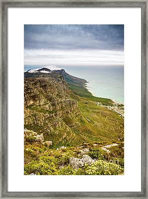 Twelve Apostles South Africa Framed Print by Tim Hester