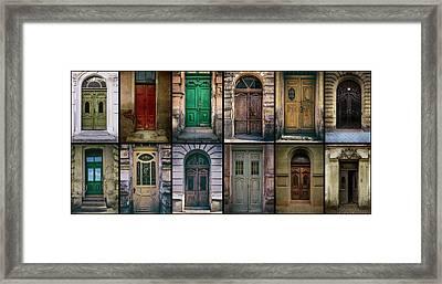 Framed Print featuring the photograph Twelve Gates Of My Hometown by Jaroslaw Blaminsky