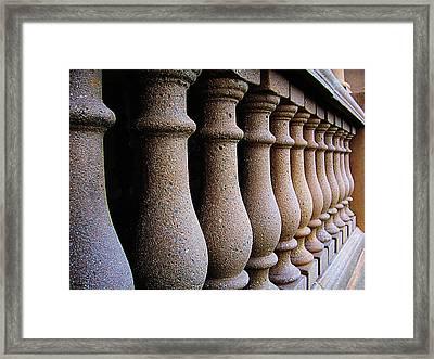 Twelve Pillars Framed Print by Glenn McCarthy Art and Photography