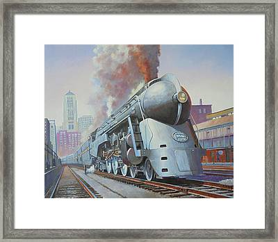 Twenthieth Century Limited Framed Print by Mike Jeffries