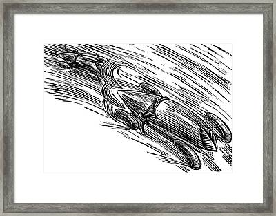 Twenties Grand Prix Framed Print