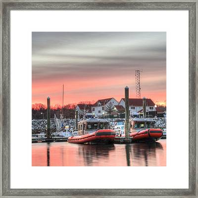 Twenty-four Seven  Framed Print