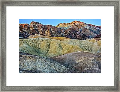 Twenty Mule Team Canyon Framed Print by Charles Dobbs