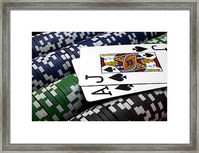 Twenty One Framed Print by Ricky Barnard
