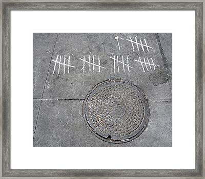 Twenty Six Framed Print by JoAnn Lense