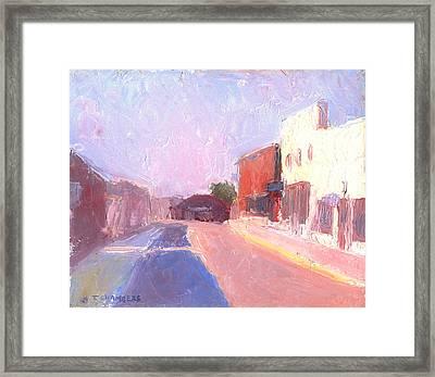 Twentyfirst Street  Early Am Framed Print