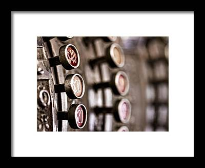 Cash Register Framed Prints