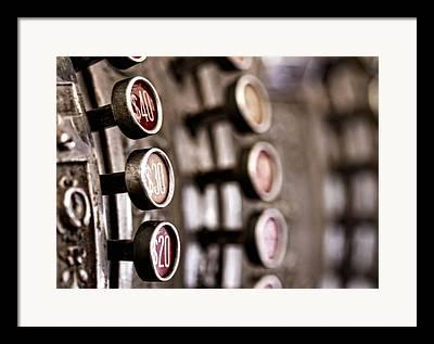 Register Framed Prints