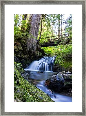 Twentytwo Creek Framed Print by Pelo Blanco Photo
