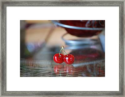 Twice As Nice Framed Print by Peter  McIntosh