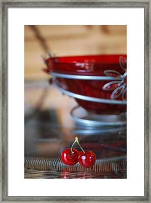 Twice As Nice Vertical Framed Print by Peter  McIntosh