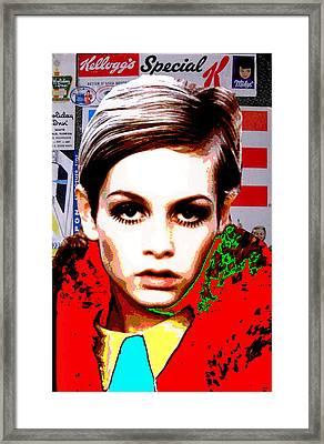 Twigg 2 Framed Print by Chandler  Douglas