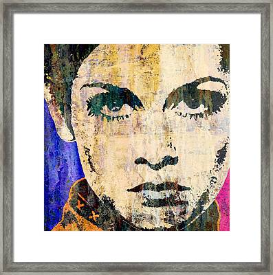 Twiggy Popped  Framed Print by Otis Porritt