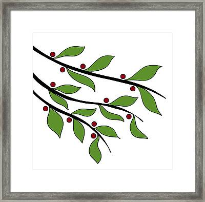 Twigs Framed Print by Frank Tschakert