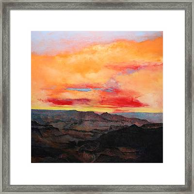 Twilight 8 Framed Print by M Diane Bonaparte