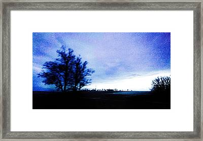 Framed Print featuring the photograph Twilight  by Bee-Bee Deigner