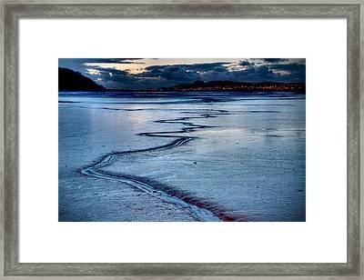 Twilight, Conwy Estuary Framed Print