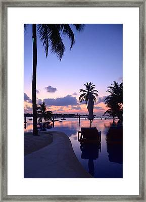 Twilight Framed Print by Corinne Rhode