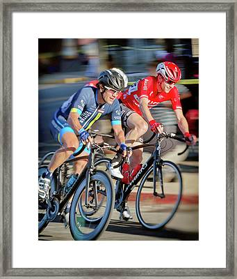 Twilight Criterium Framed Print