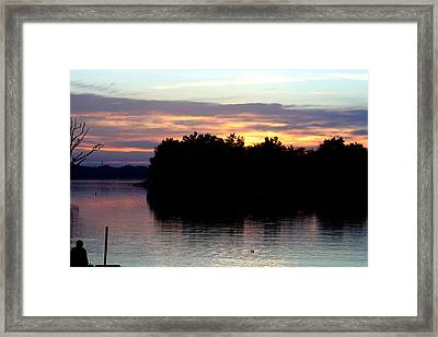 Twilight Delight Framed Print by Dave Clark
