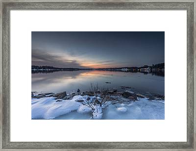 Framed Print featuring the photograph Twilight by Edward Kreis